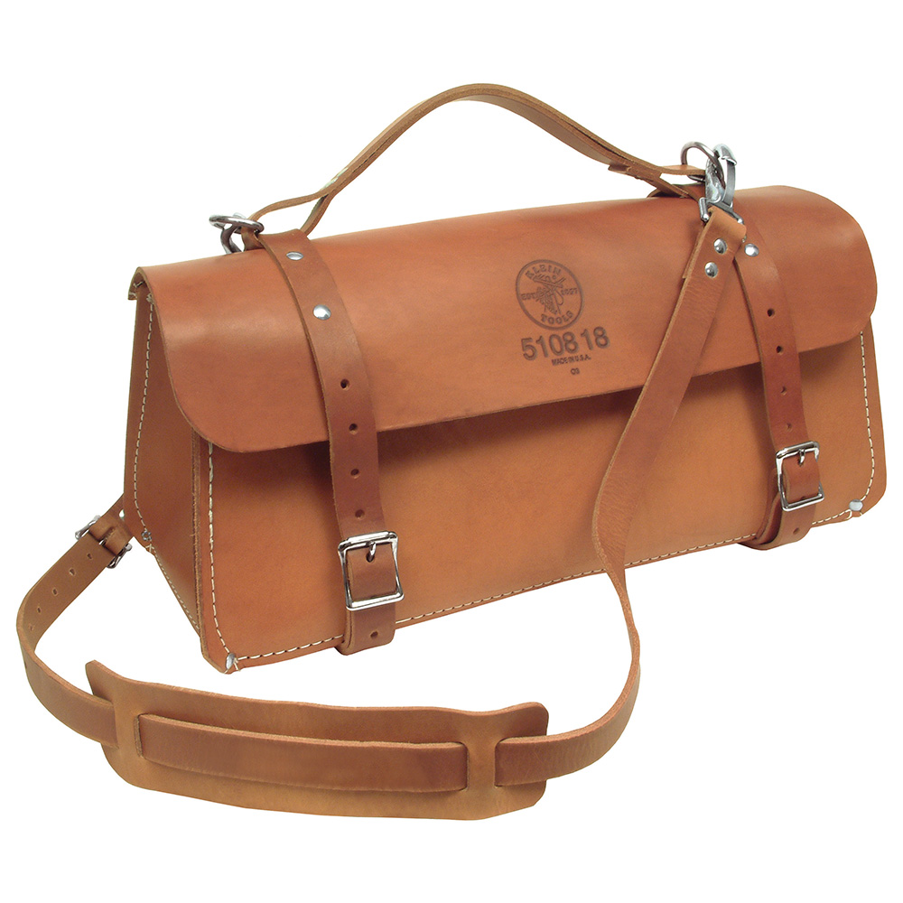 "510818 18"" Leather Tool Bag"