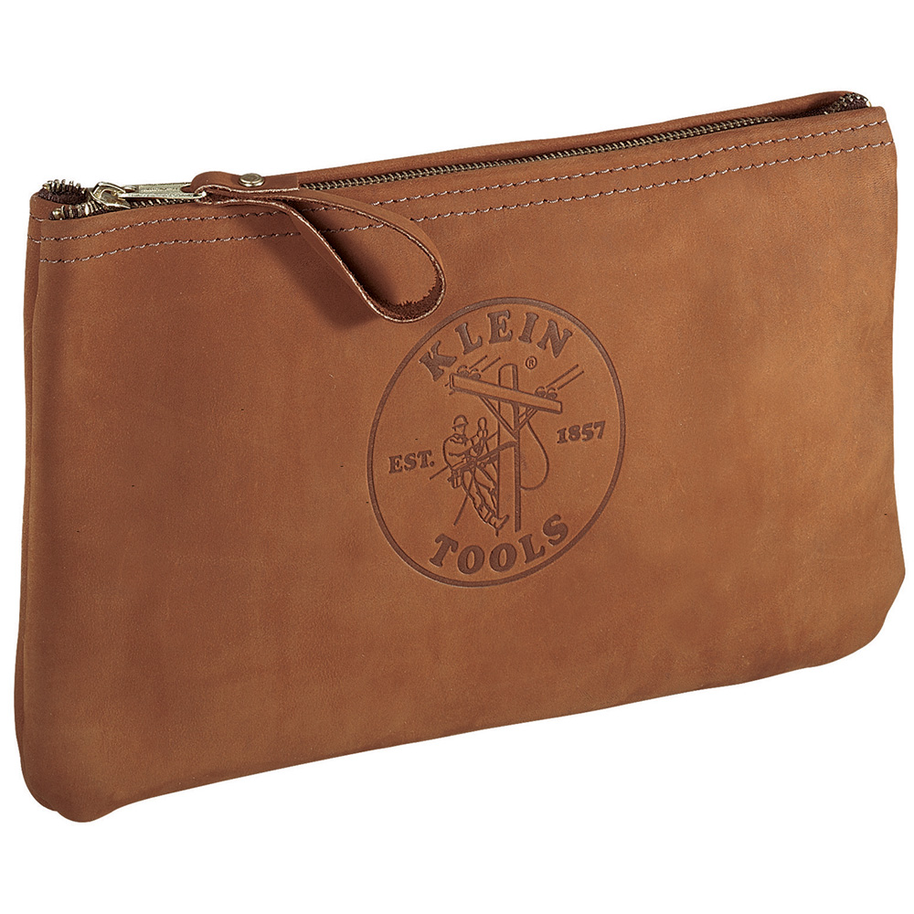 5139L Leather Zipper Bag