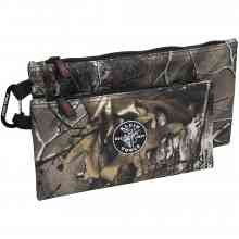 Camo Zipper Bags, 2-pack