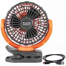 Rechargeable Personal Jobsite Fan