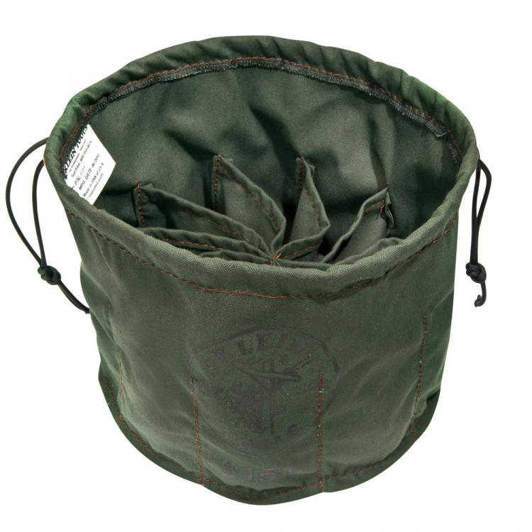 Drawstring Bag, 10-Compartment