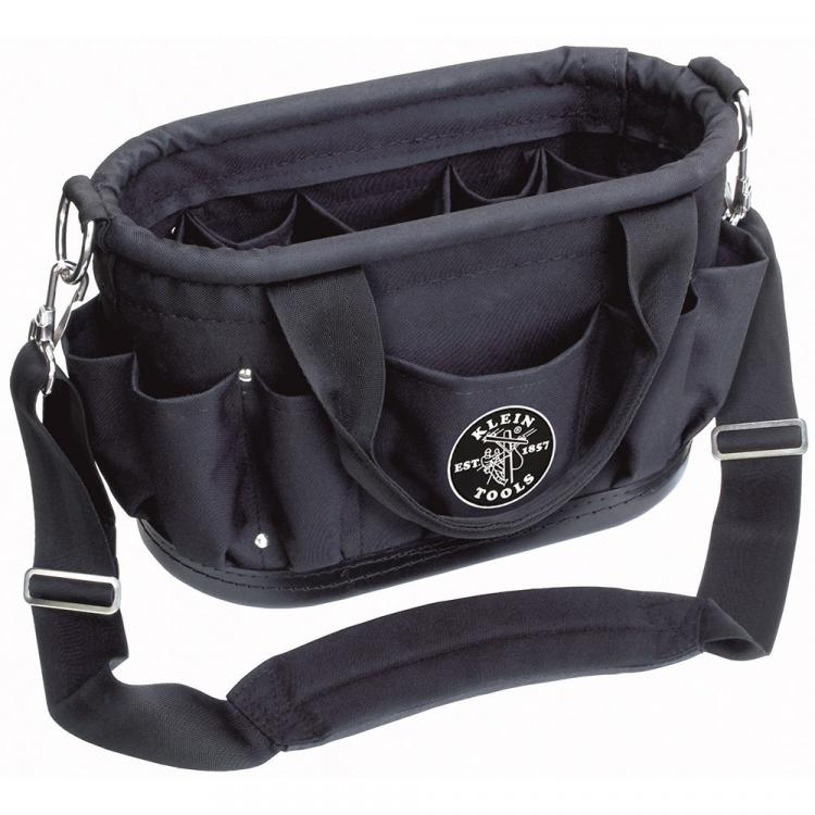 12 Pocket Tool Tote with Shoulder Strap
