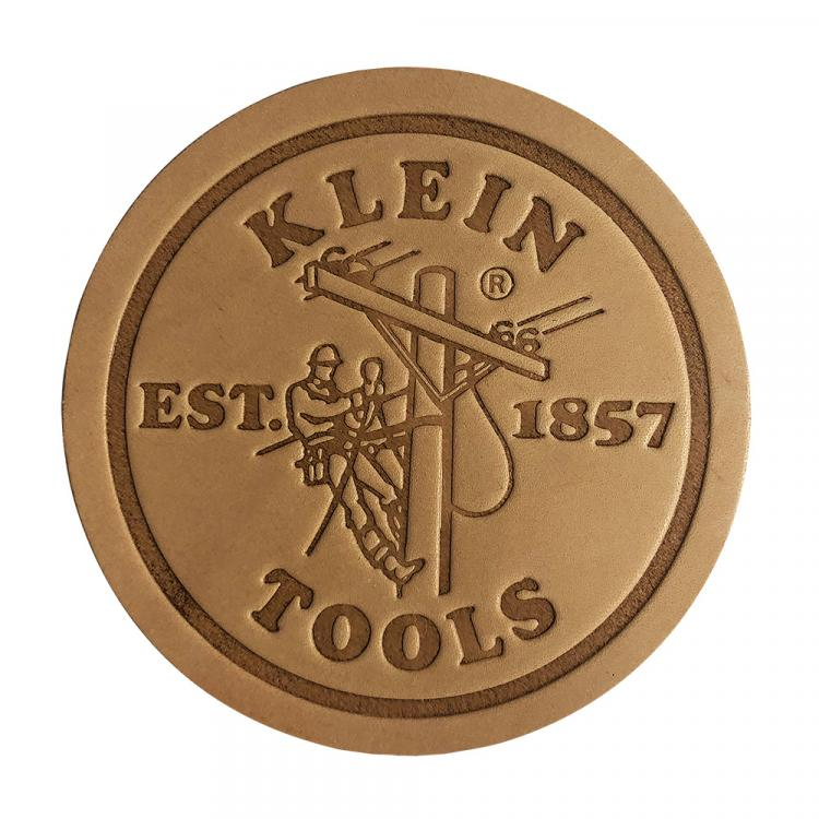 Klein Leather Coasters, Pk 6